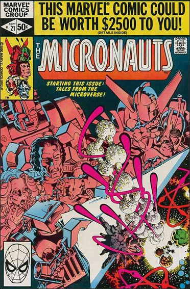 Micronauts (1979) 21-A by Marvel
