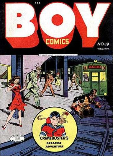 Boy Comics 19-A by Lev Gleason Productions
