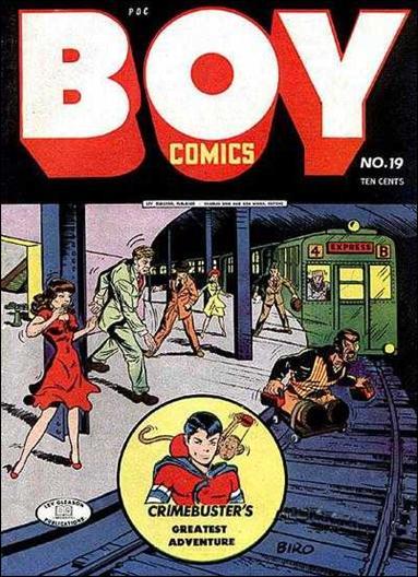 Boy Comics 19-A by Lev Gleason Productions