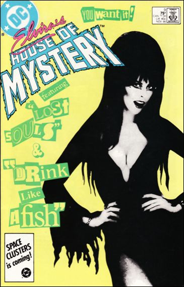 Elvira's House of Mystery 9-A by DC