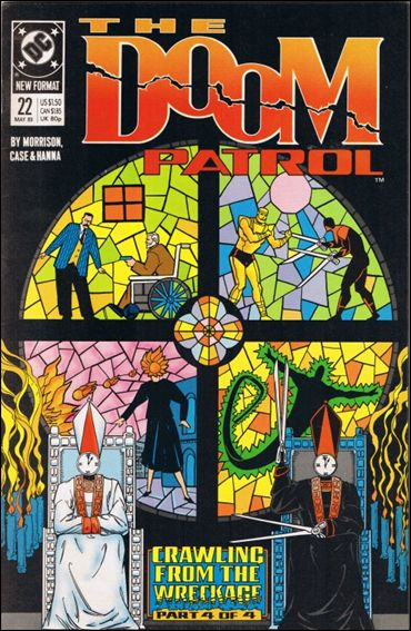 Doom Patrol (1987) 22-A by Vertigo