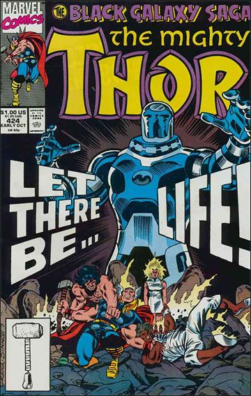 Thor (1966) 424-A by Marvel