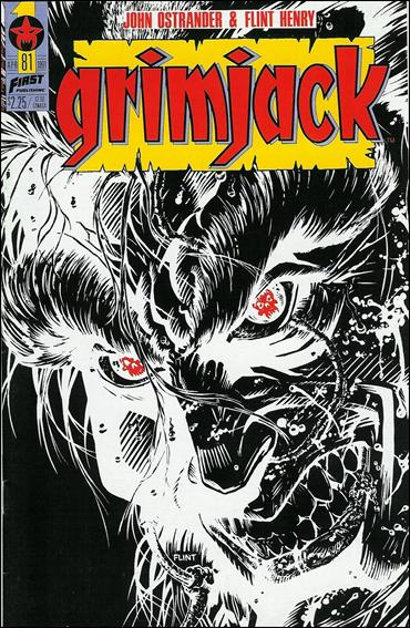 Grimjack 81-A by First
