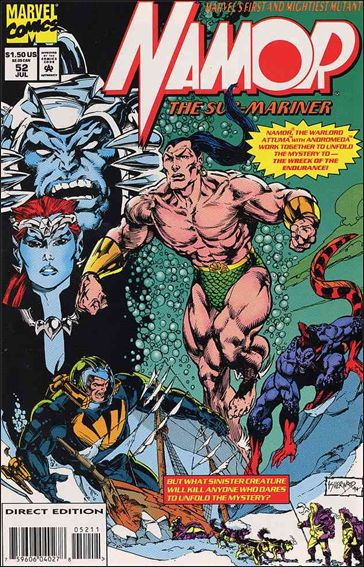 Namor: The Sub-Mariner 52-A by Marvel