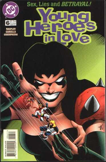 Young Heroes in Love 6-A by DC