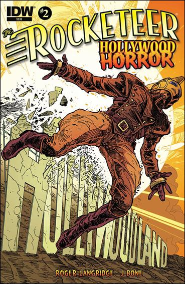 Rocketeer: Hollywood Horror 2-A by IDW