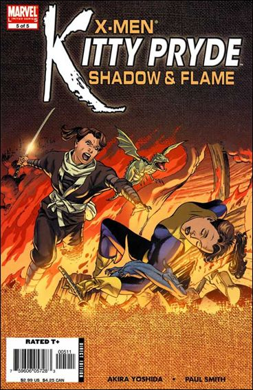 X-Men: Kitty Pryde - Shadow &amp; Flame 5-A by Marvel