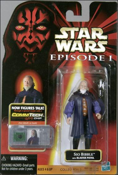 "Star Wars: Episode I 3 3/4"" Basic Action Figures Sio Bibble by Hasbro"