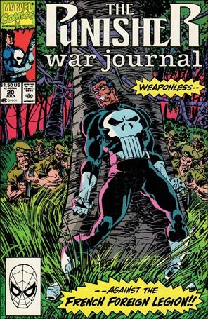 Punisher War Journal (1988) 20-A