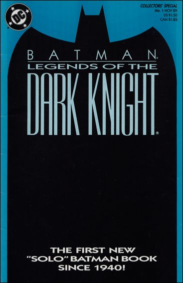 Batman: Legends of the Dark Knight 1-B by DC