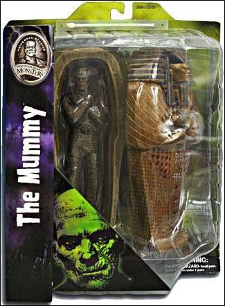 Universal Monsters The Mummy w/Sacrophagus by Diamond Select