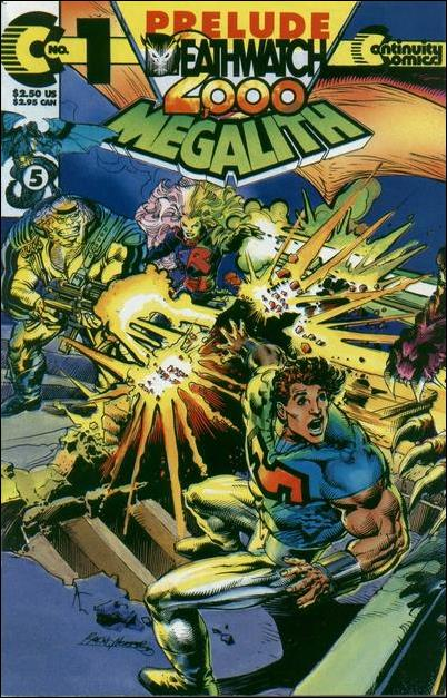 Megalith (1993) 1-B by Continuity Comics