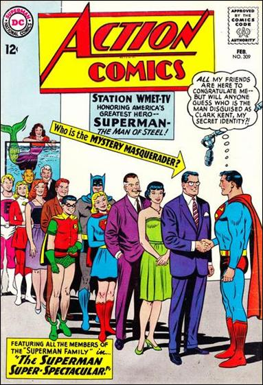 Action Comics (1938) 309-A by DC