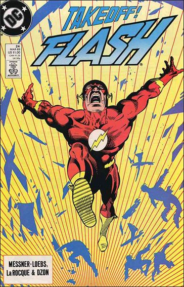 Flash (1987) 24-A by DC