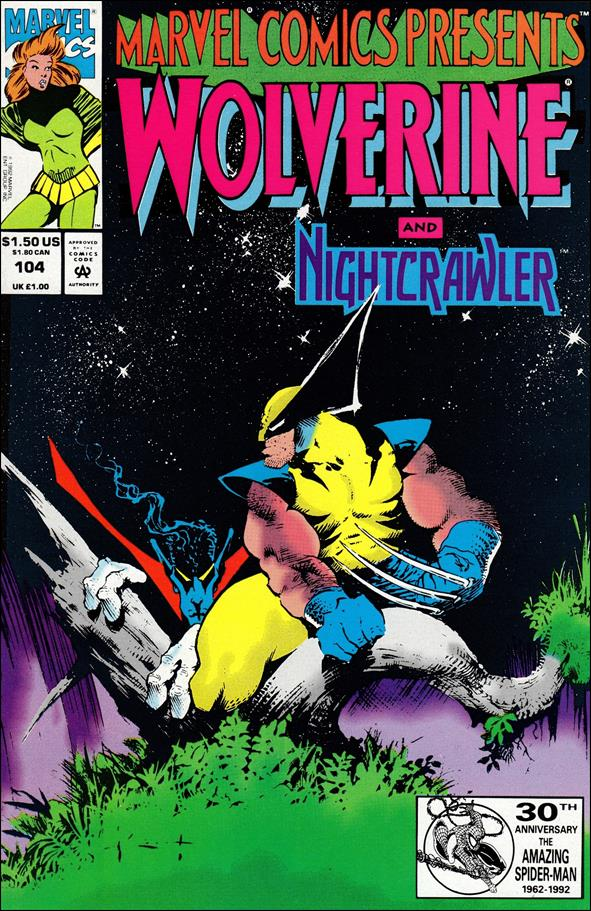 Marvel Comics Presents (1988) 104-A by Marvel