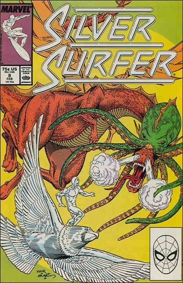 Silver Surfer (1987) 8-A by Marvel