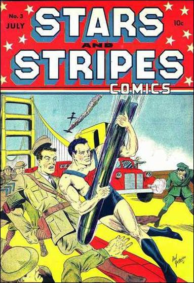 Stars and Stripes Comics 3-A by Centaur Publications Inc.