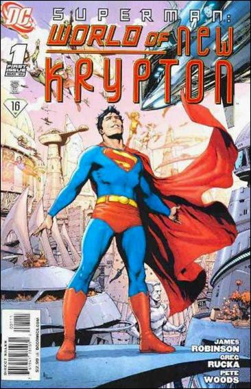 Superman: World of New Krypton 1-A by DC