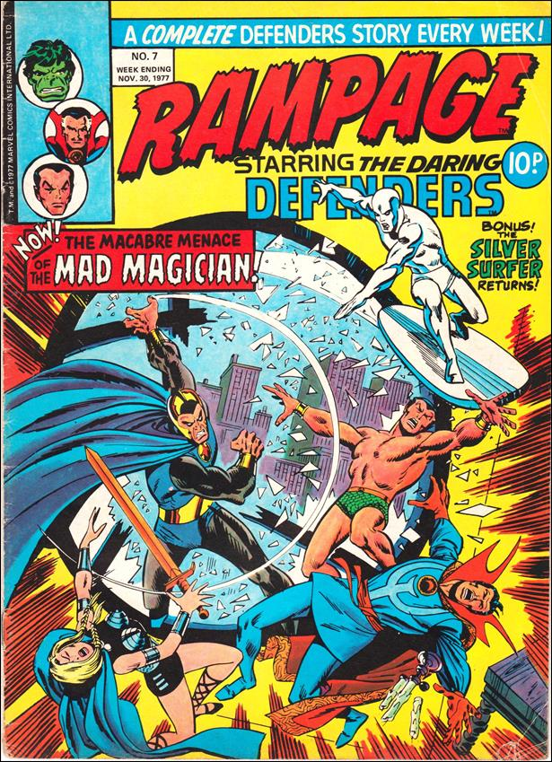 Rampage Weekly (UK) 7-A by Marvel UK