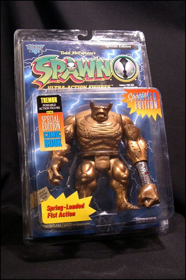 Spawn (Series  1) Tremor (Gold Edition) by Todd Toys