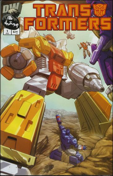 Transformers: Generation 1 (2002) 1-F by Dreamwave