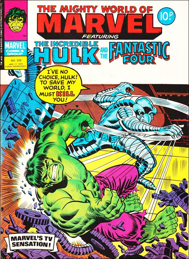 Mighty World of Marvel (UK) (1972) 329-A by Marvel UK