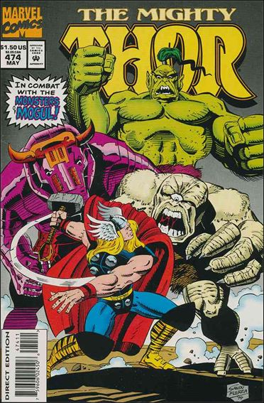 Thor (1966) 474-A by Marvel