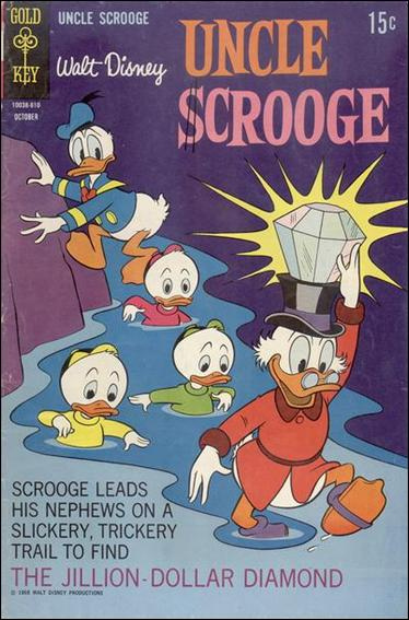 Walt Disney Uncle Scrooge 77-A by Gemstone