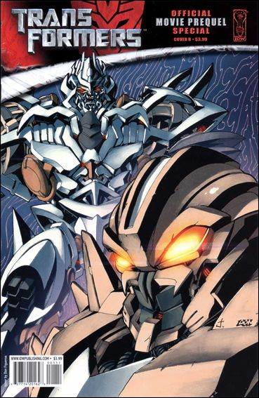 Transformers: Movie Prequel Special 1-B by IDW