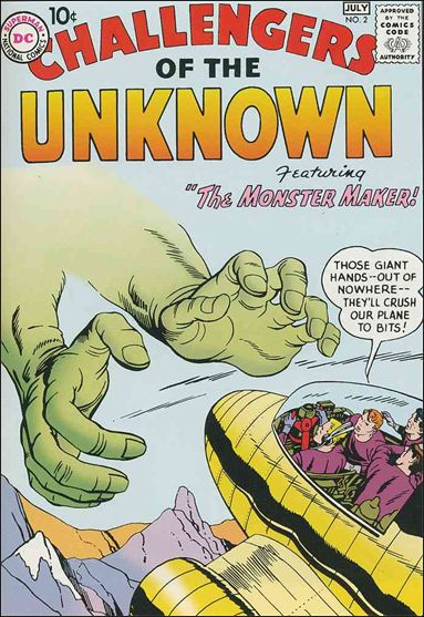 Challengers of the Unknown (1958) 2-A by DC