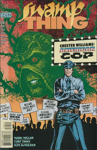 Swamp Thing (1986) 165-A by Vertigo
