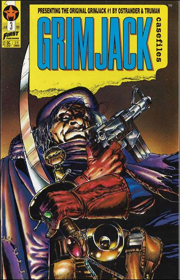 Grimjack Casefiles 3-A by First