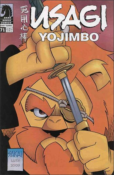 Usagi Yojimbo (1996) 71-A by Dark Horse