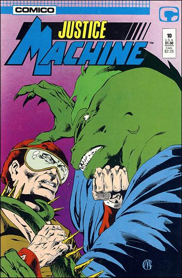Justice Machine (1987) 10-A by Comico