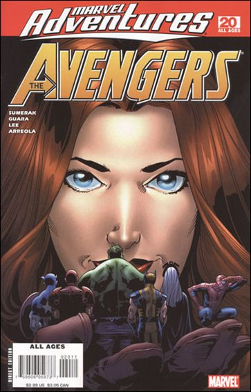 Marvel Adventures The Avengers 20-A by Marvel