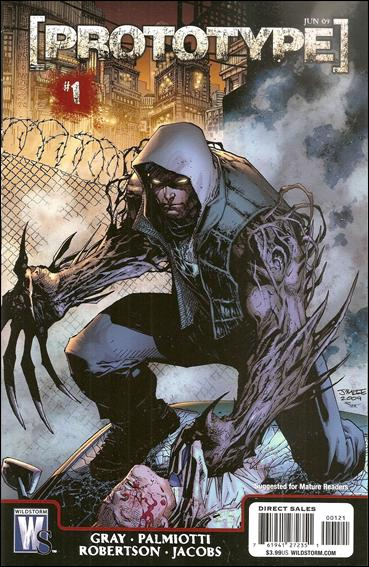 Prototype (2009) 1-B by WildStorm