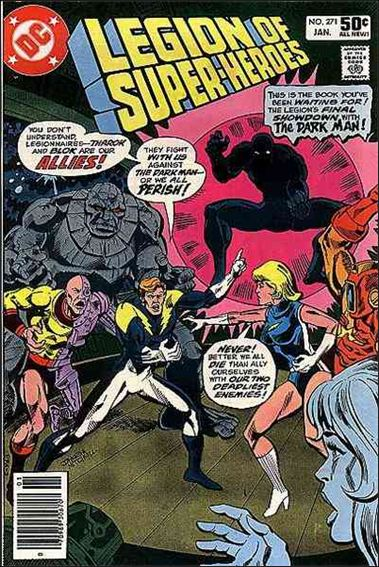 Legion of Super-Heroes (1980) 271-A by DC