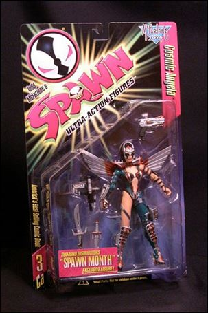 Spawn (Series  3) Cosmic Green Angela