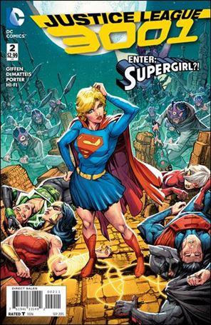 Justice League 3001 2-A