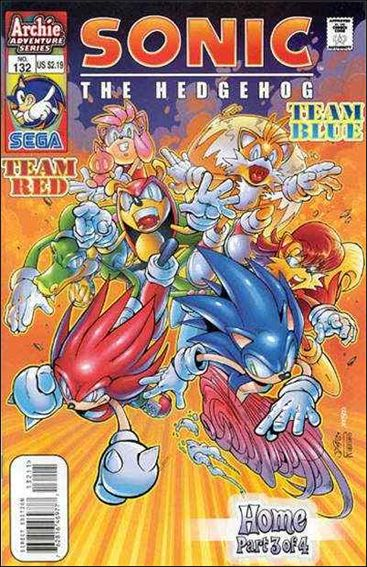 Sonic the Hedgehog (1993) 132-A by Archie