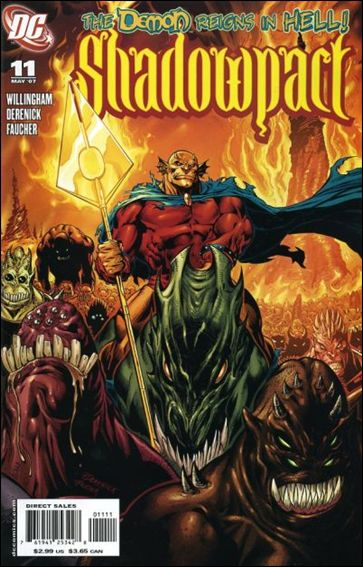 Shadowpact 11-A by DC
