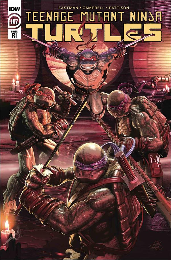 Teenage Mutant Ninja Turtles (2011) 107-C by IDW