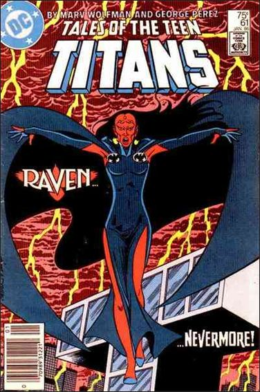 Tales of the Teen Titans 61-A by DC