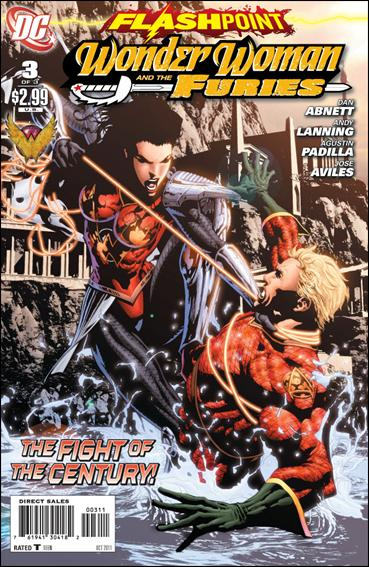 Flashpoint: Wonder Woman & the Furies 3-A by DC