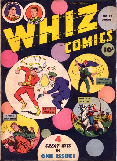 Whiz Comics 77-A by Fawcett