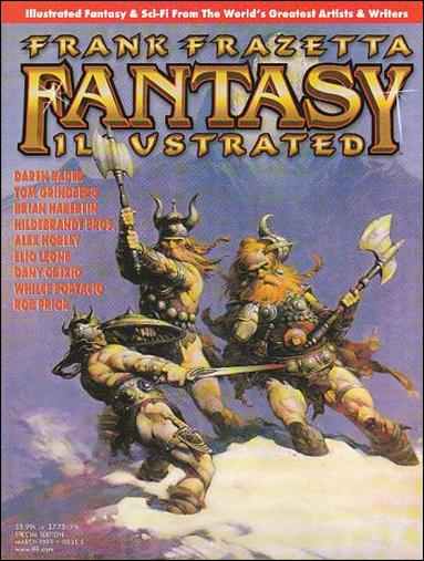 Frank Frazetta Fantasy Illustrated 5-A by Quantum Cat Entertainment