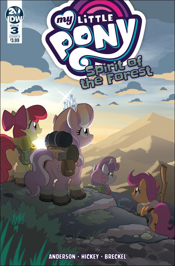 My Little Pony: Spirit of the Forest 3-B by IDW