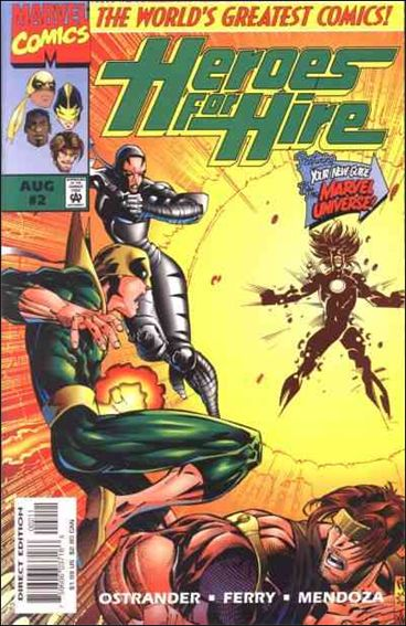 Heroes for Hire (1997) 2-A by Marvel