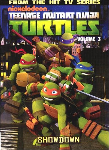 Teenage Mutant Ninja Turtles Animated 3-A by IDW