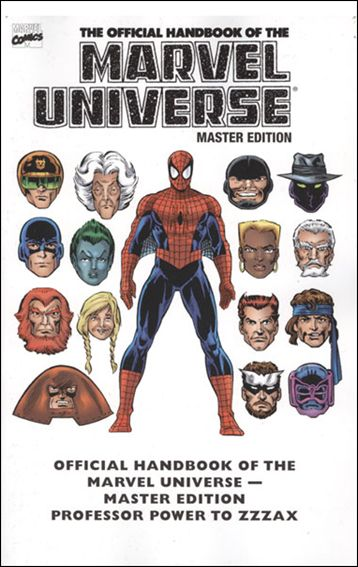Essential Official Handbook of the Marvel Universe - Master Edition 3-A by Marvel